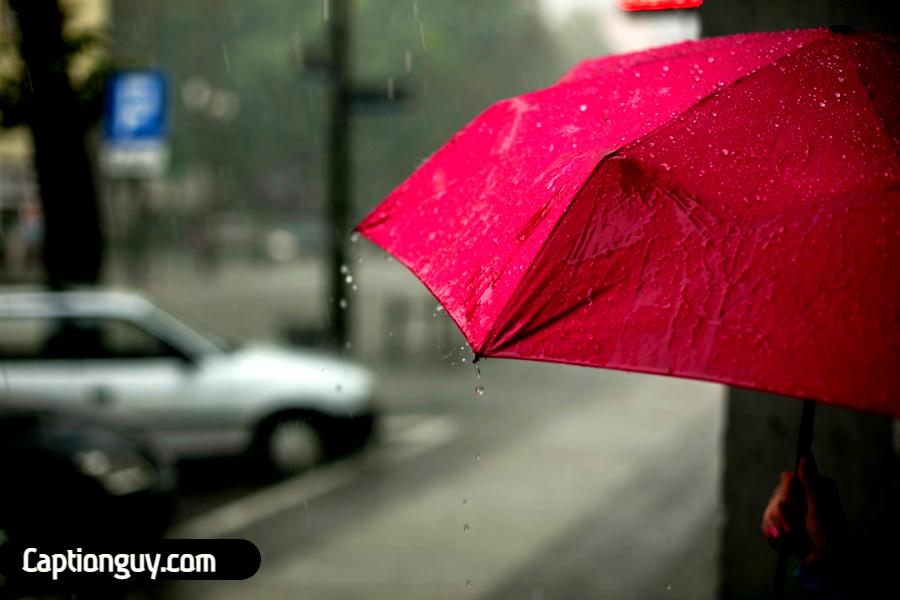 Best Umbrella Captions