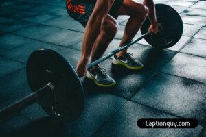 Gym Picture Captions