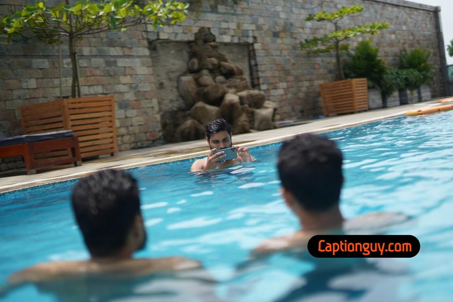 Swimming Pool Captions