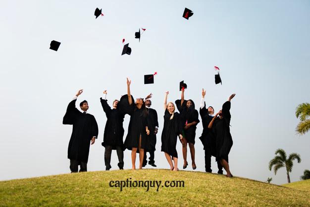 graduation captions