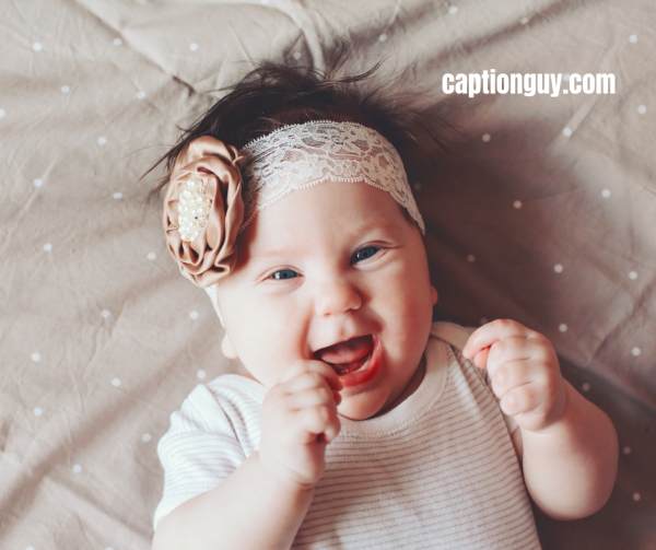 Baby Girl Picture Captions