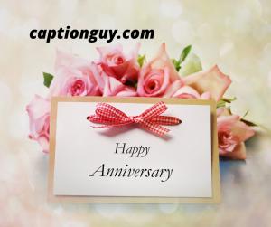 Wedding Anniversary Captions
