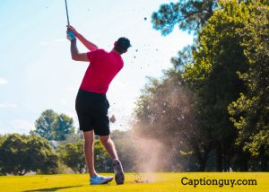 golf captions