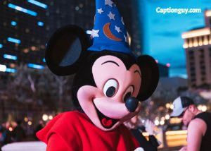 Mickey Mouse Captions